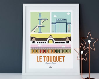 """""""My Touquet"""" New York City poster"""