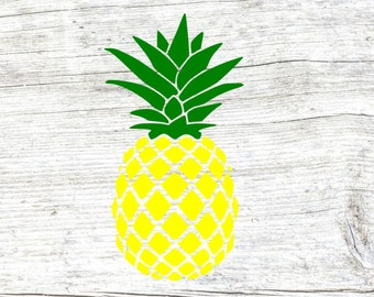 Pineapple svg, pineapple monogram base svg, pineapple monogram svg, pineapple clipart, cut files for cricut silhouette, dxf, png, eps