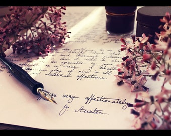 Handwritten Letter Service | White A4 Paper, Black Ink | A Memorable Gift and Keepsake
