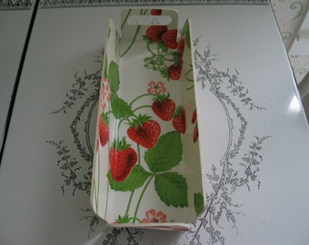 Strawberry Tray With Handles Very Bright And Cheery