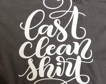 XL Ladies V-neck tee, Ultra Soft, Asphalt Color, Last Clean Shirt, Bella tee - extra soft!!