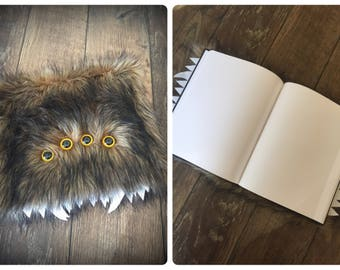 Furry Monster Sketchbook