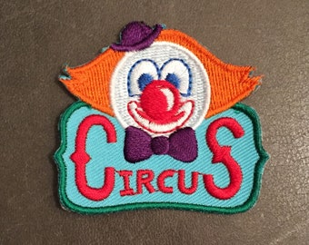 Circus Merit Badge Clown Scout Patch