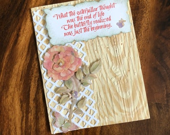 Lovely, inspirational, any occasion, card