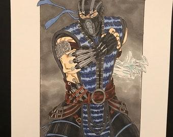 Mortal Kombat Subzero regular Print