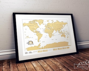 Scratch off map etsy scratch off world map gumiabroncs Choice Image