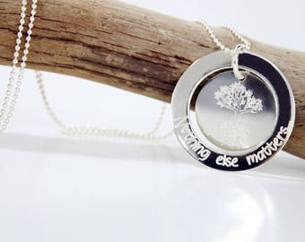 Necklace / necklace 925 sterling silver Donuts * custom Creation * with engraving