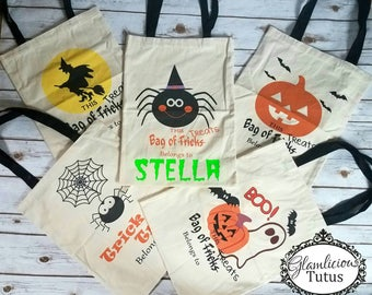 WHOLESALE Trick or Treat bag | Custom candy bag | Trick or treat