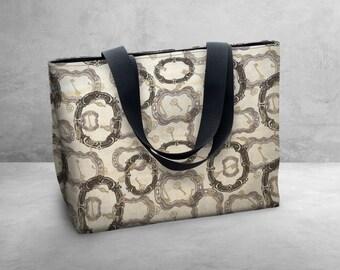 Framed Keys - Susan Winget Carry Bag / Tote Bag / Market Bag / Book Bag / Carry All -