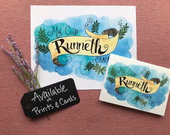 My Cup Runneth Over Art Print
