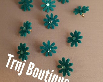 Decorative Flower Push Pins