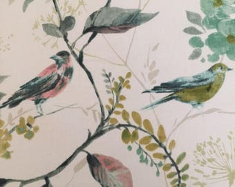 Birdsong Willow Fabric Lampshade