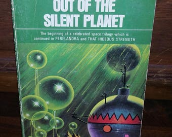 Out Of The Silent Planet C.S. Lewis Vintage Paperback Book