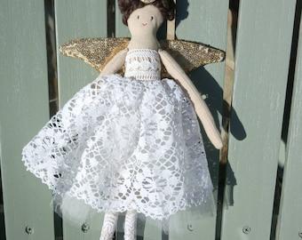 Handmade angel or fairy