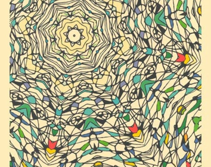 "Central Park, December 3  - 11"" x 17"" print"