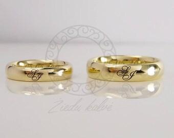14 carat gold , golden, wedding bands , rings, accessories