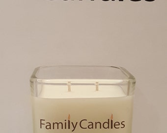 Family Candles - Blood Orange 7.5 oz Double WIcked Soy Candle