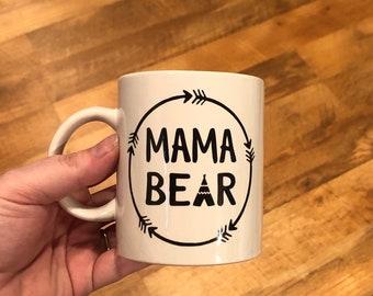 Mama Bear Coffee Mug - style 4