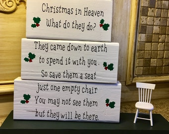 Christmas in Heaven Poem remember loved one