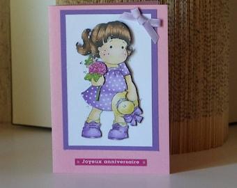 Birthday child, teenage or girls birthday card card