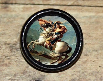 Emperor General NAPOLEON BONAPARTE Pendant or Brooch or Ring or Earrings or Tie Tack or Cuff Links