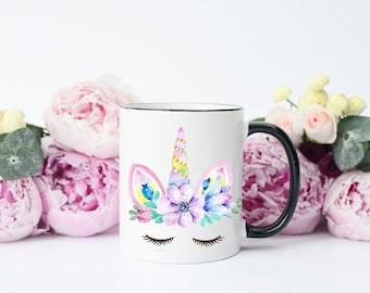 Unicorn Mug, Cute Unicorn Mug, Sleeping Unicorn, Unicorn Coffee Mug, Unicorn Gift, Mug with Unicorn, Mug Unicorn, Coffee Mug Unicorn