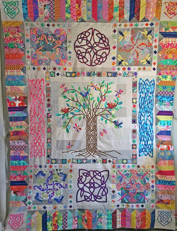 Celtic Tree of Life BOM Block 10 Putting it All Together