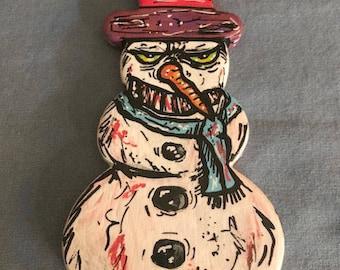 Snowman Ornament V3