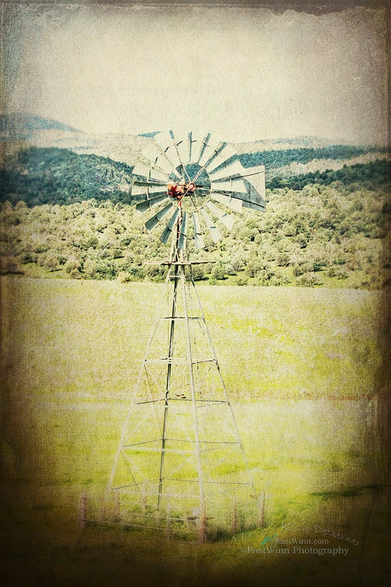 rustic windmill large wall art windmill decor farmhouse decor