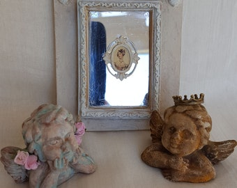 Miniature panel with mirror -  French style -