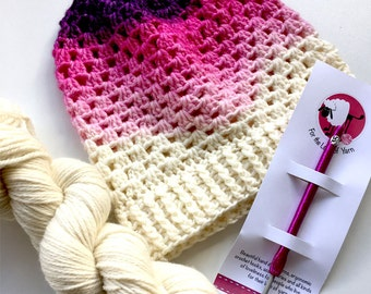 DYE YOUR OWN hat kit - custom listing specialised hook included