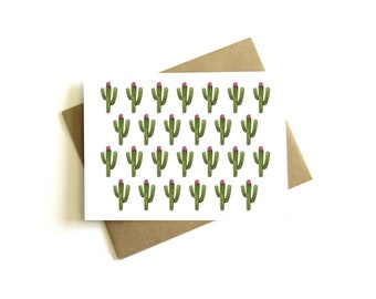 Cactus Note Cards - Cactus Stationery Set, Succulent Note Cards, Cactus, Note Card Set
