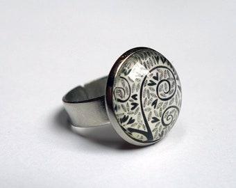 Ring, Black Hearts