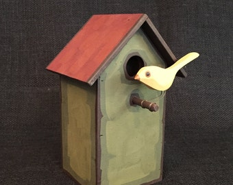 Decorative Bird House-Decorative Birdhouse