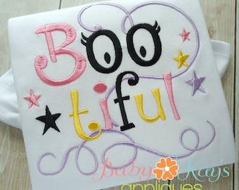 Boo-tiful Embroidery File 4x4, 5x7, 6x10, 8x8