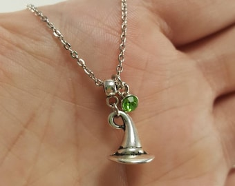 Wicked Elphaba Necklace, Wicked Witch of the West, Wicked Jewelry, Wizard of Oz Jewelry