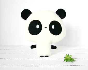 Panda Plush, Panda Stuffed Animal, Panda Toy, Stuffed Panda, Fleece Panda Plush, Baby Shower, Baby Boy, Baby Girl, Panda