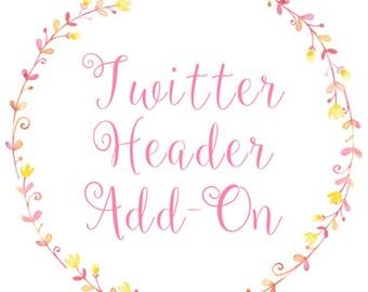 Twitter Header Add-On