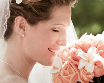 Bridal Stud Earrings, Bridal Jewelry, Bridesmaid Pearl Earrings, Wedding Jewelry, Wedding Earrings, Bridesmaids Jewelry