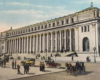 Vintage 1910 New General Post Office New York City Post Card