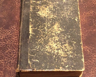 SETTIMANA SANTA Italian Holy Week prayer book Monsignor Martini Napoli 1882