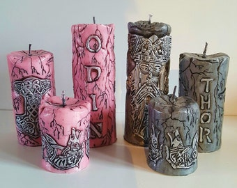 The Nordic Storm Candle Set