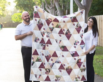 Triangle Photo Quilt