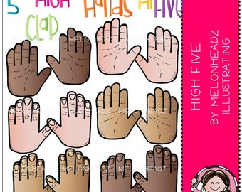 High five Clip Art - COMBO PACK