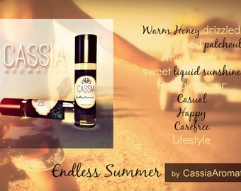 Honey Perfume OIl Endless Summer Warm honey patchouli and sunshine
