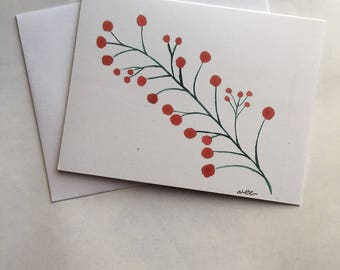 Christmas Cards- Holiday, Includes 10 Cards & Envelopes, Handmade, Christmas