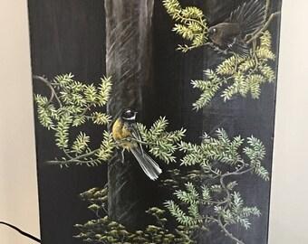 Tale of three, original artwork