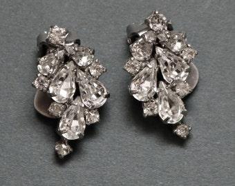 Rhinestone Earrings (clip-ons)
