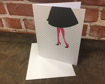 Variety Pack/Retro in Heels - Set of 10 Note Cards