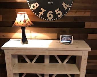 Farmhouse Style Sofa Table